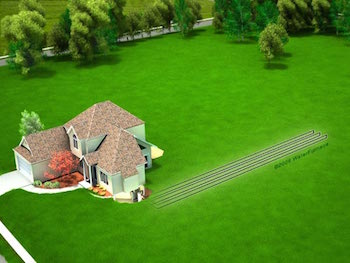 Lexington Geothermal Horizontal Loop | Climate Control
